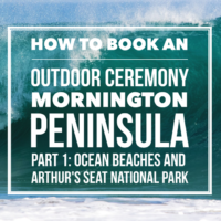 How to book Mornington Peninsula wedding ceremony